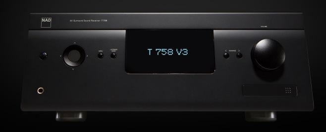 NAD-T-758-V3-Front